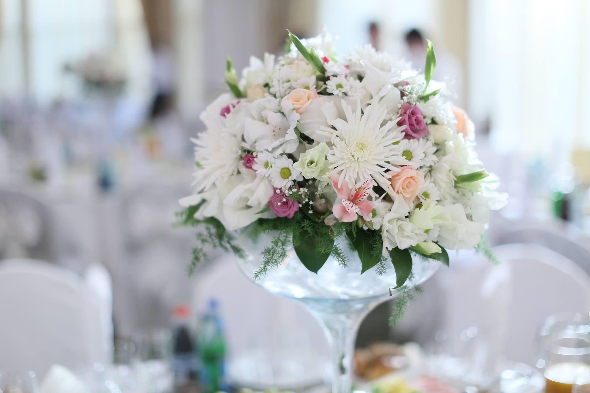 Оформление праздников цветами