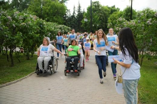 Благотворительный марафон «Спорт неограниченных возможностей» набирает обороты