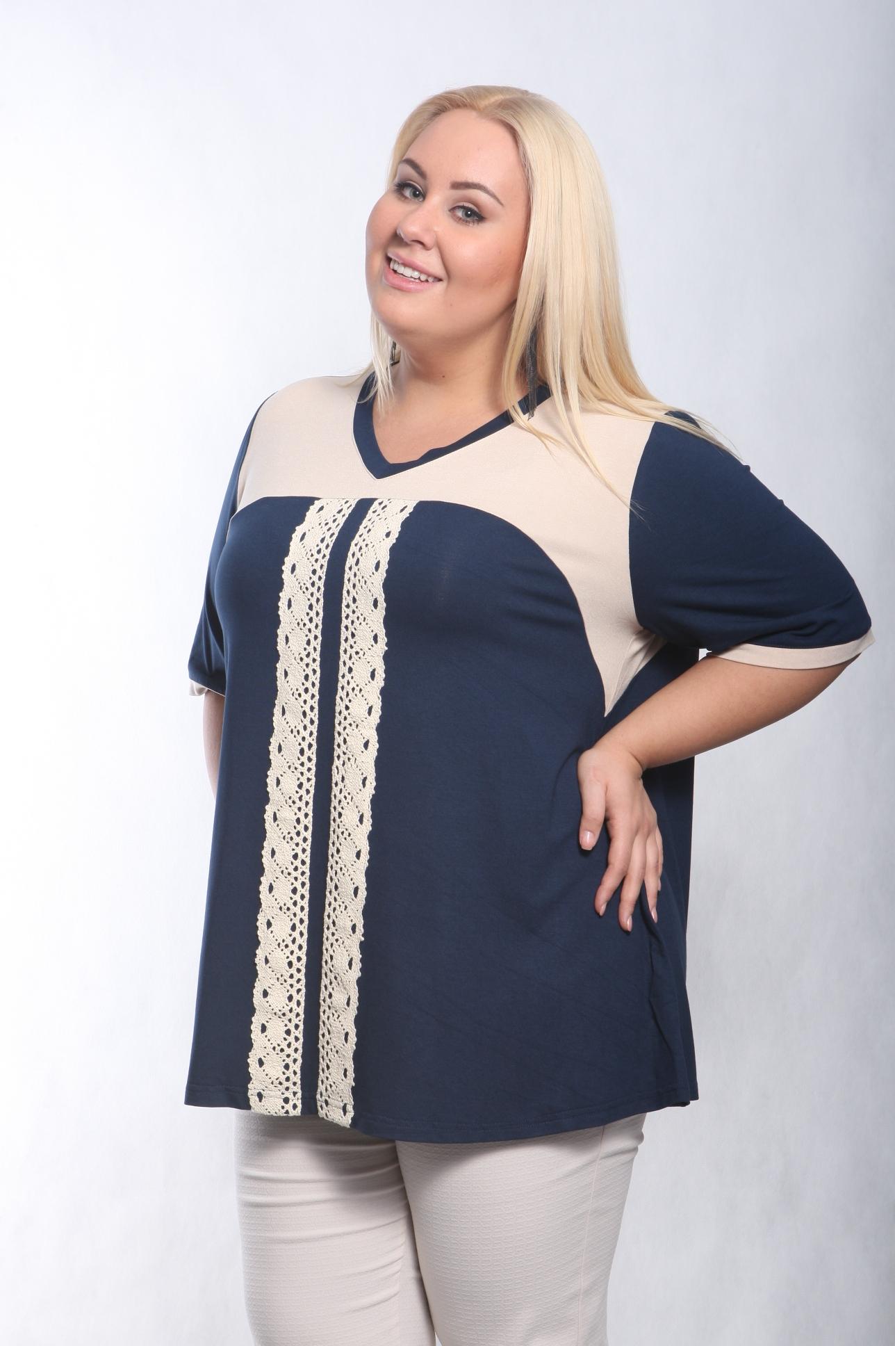 Купить блузку большого размера в интернет магазине спб