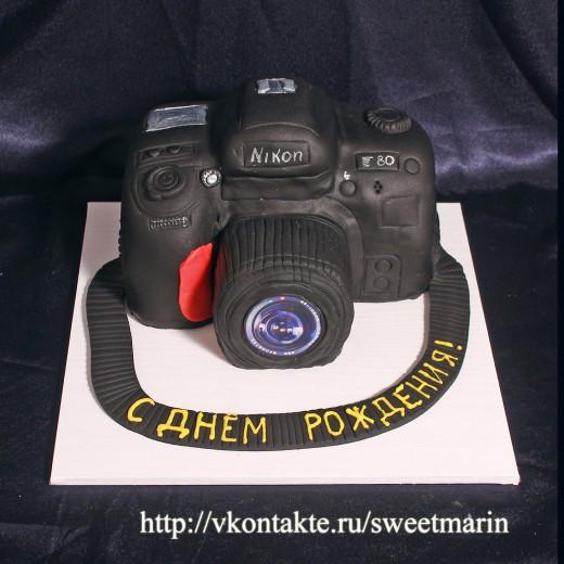 заказ торта фотоаппарат киев
