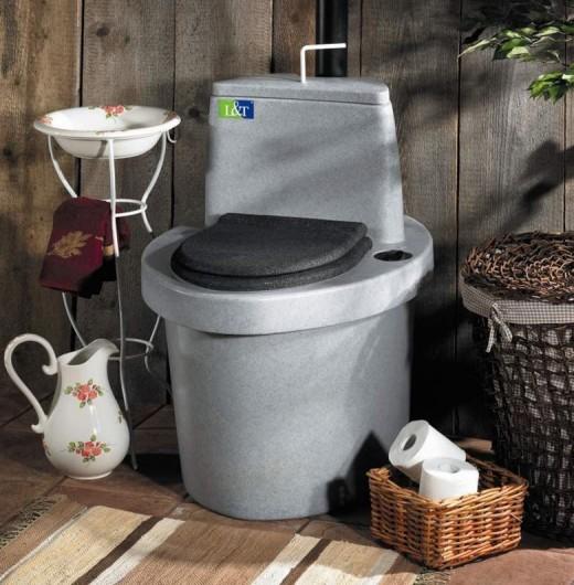 Торфяной туалет для дачи - удача для дачников