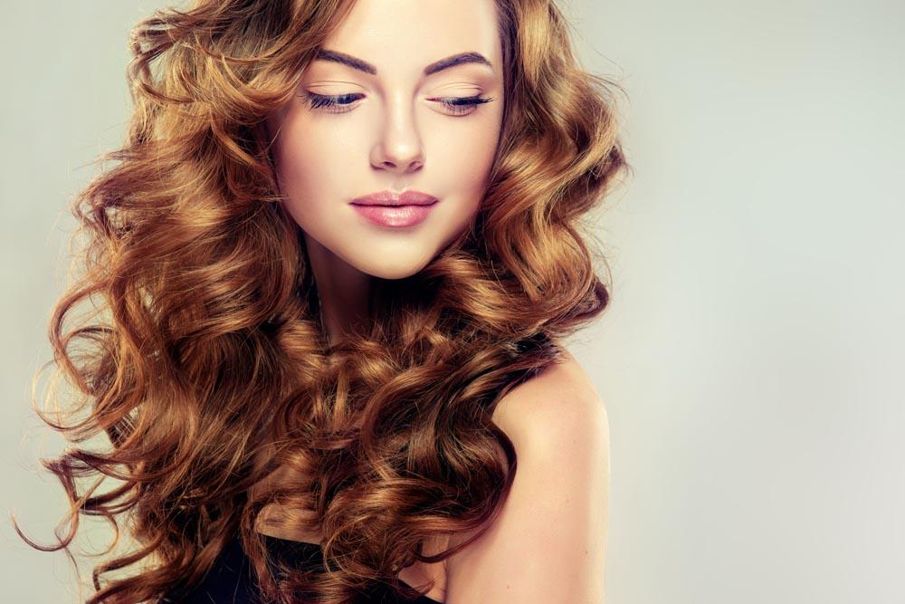 Волосы пышные и здоровые