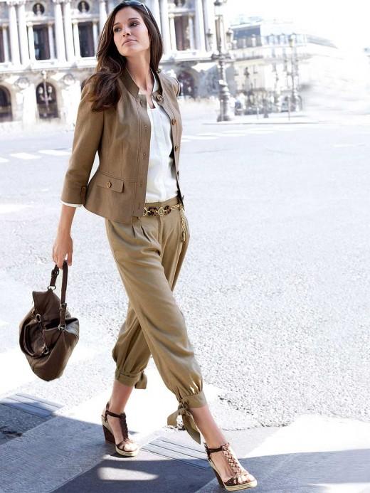 Как женщины влезли в брюки