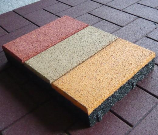 Резиновая плитка -  лучший вариант для оформления