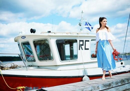 Модель Лиза Марикова  появится летом в популярном модном издании TOPBEAUTY