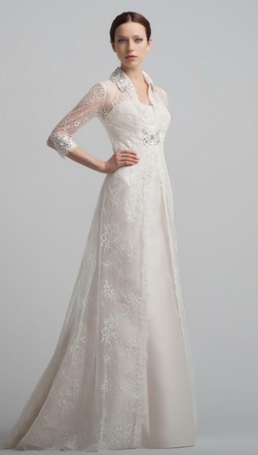 Платье для осенней свадьбы