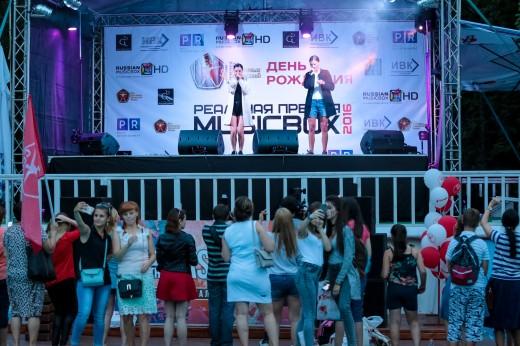 Старт первого этапа голосования за номинантов на Четвертую Реальную Премию MUSICBOX 2016 и День Рождения премиум фитнес-клуба С.С.С.Р.