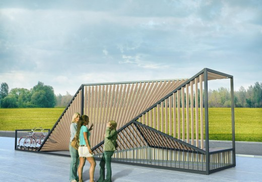 Остановка-мираж – лучший проект конкурса «Дизайн без границ»