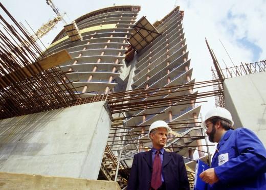 Усиление конструкций строений и зданий