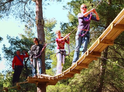 Активный отдых в парке приключений Adventure Park стал еще более популярным.