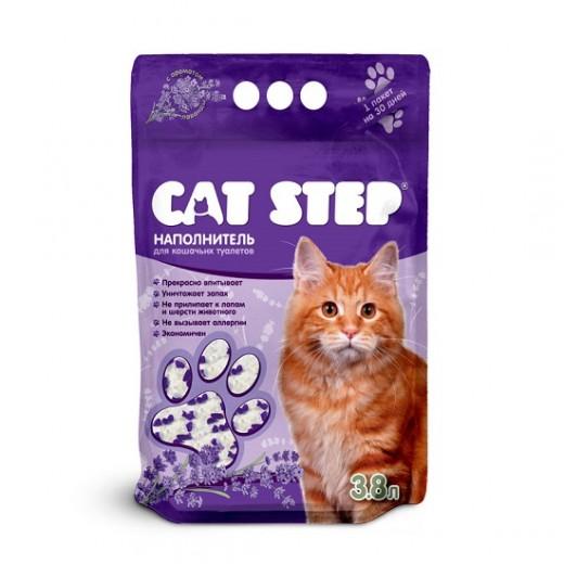 «АММА» презентует новый наполнитель «Лаванда» линейки CAT STEP™