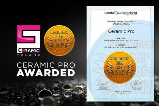 Польские потребители назвали лучшим в категории защитных покрытий Ceramic Pro