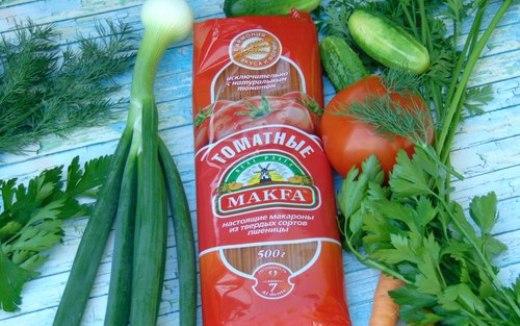 Полезные макаронные изделия – «Томатные» макароны
