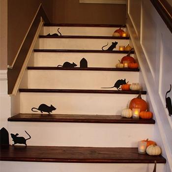 Как украсить квартиру к Хэллоуину