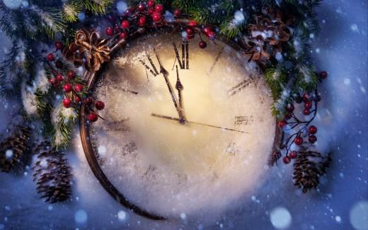 Новый год время определять свое будущее