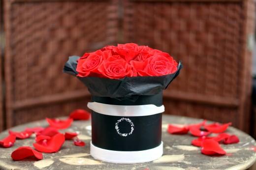 Как собрать букет из роз