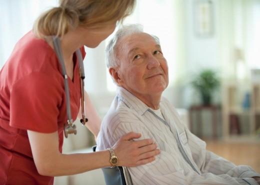 Забота о пожилых в частном пансионате для престарелых