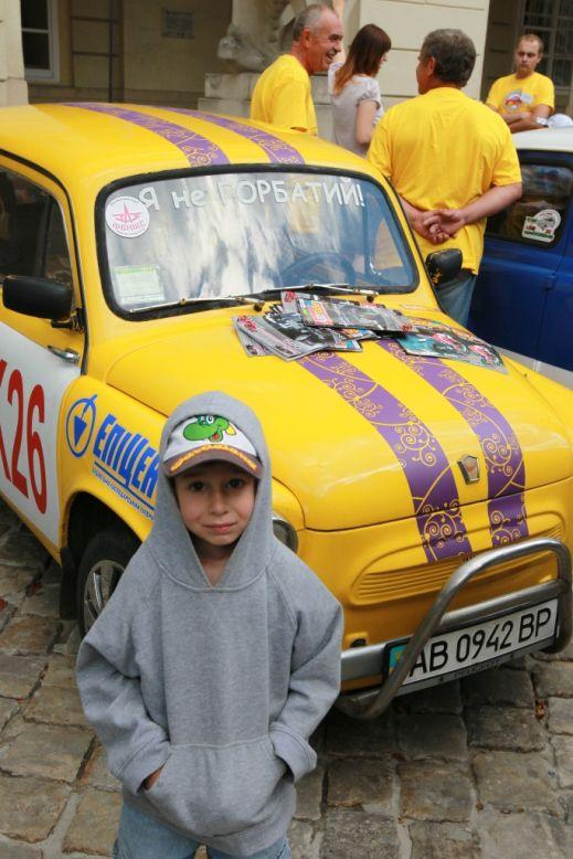 «Запорожцы»: из Львова в Карпаты