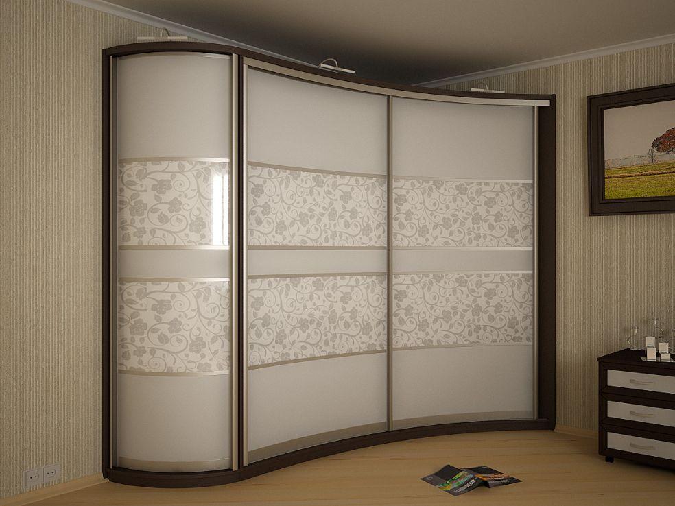 Шкаф во всю стену фото