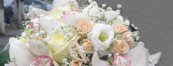 Неповторимые и стильные свадебные букеты от цветочного салона «Квіточка»
