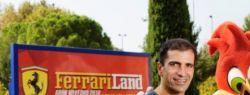 Визит Марка Жене завершает неделю Феррари в ПортАвентура