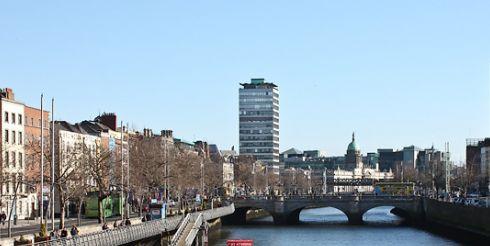 Ирландия. Дневная жизнь Дублина (фото)