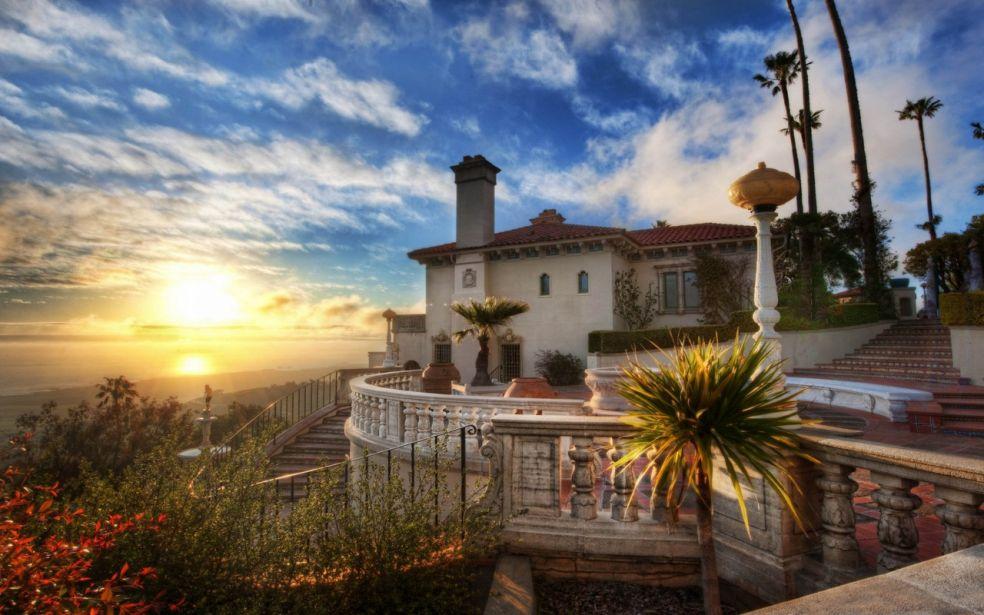 Калифорнийский Тадж Махал... замок Херста