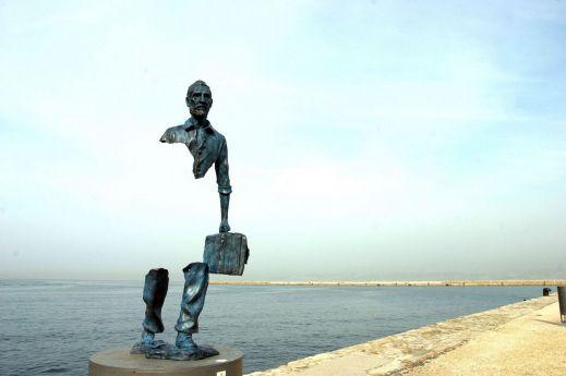 Скульптуры-призраки Марселя