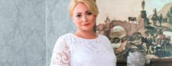 Светлана Пермякова рекламирует plus size коллекцию от Gepur