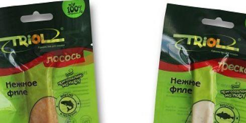 На рынке под брендом TRIOL появилось четыре новинки от АММА для кошек