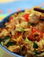 Жареный рис со свининой (фоторецепт)