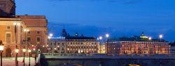 Стокгольм вечером