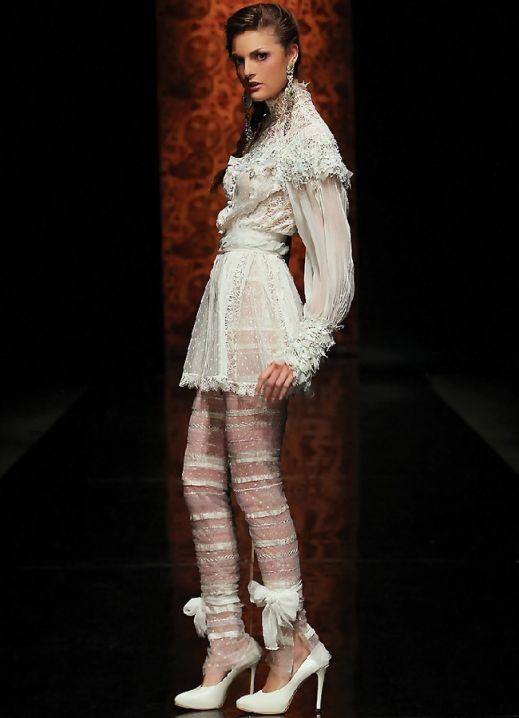 Белые вечерние платья (Мода, Новый год.