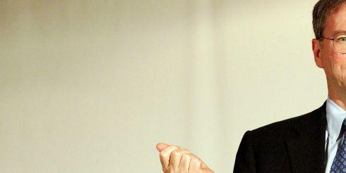 Эрик Шмидт ушел с поста гендиректора Google