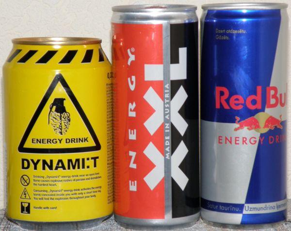 Энергетики увеличивают риск высокого кровяного давления