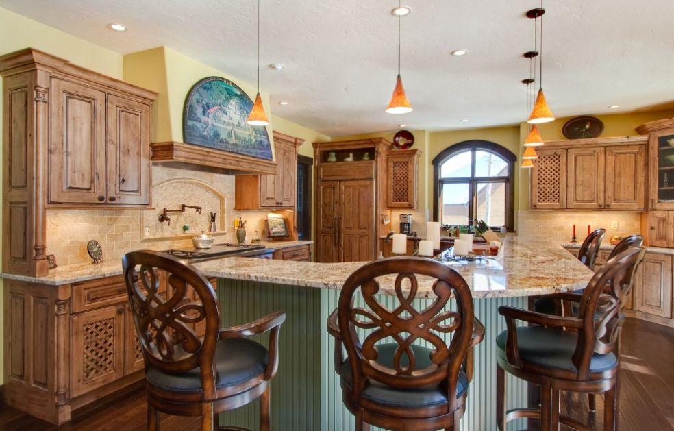 Кухня в кружевах