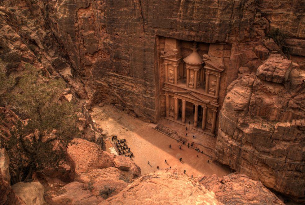 Петра в Иордании