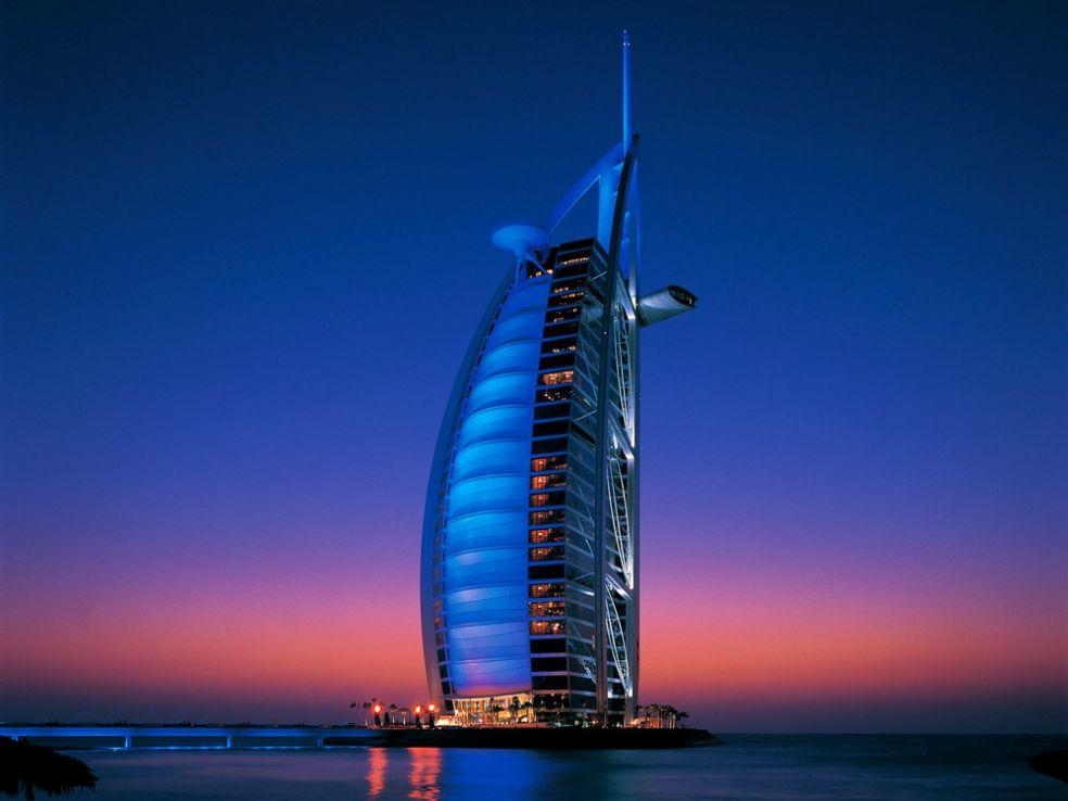 Отель Парус в Дубаи