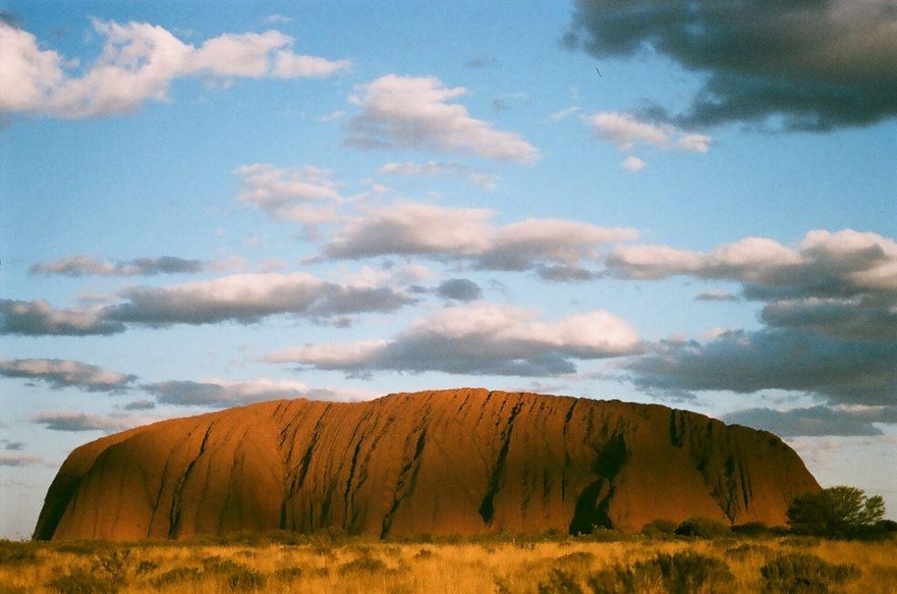 Улуру в Северной территории, Австралия