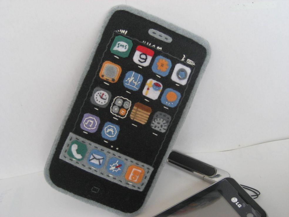 Как сделать чехол для мобильного телефона своими руками 51