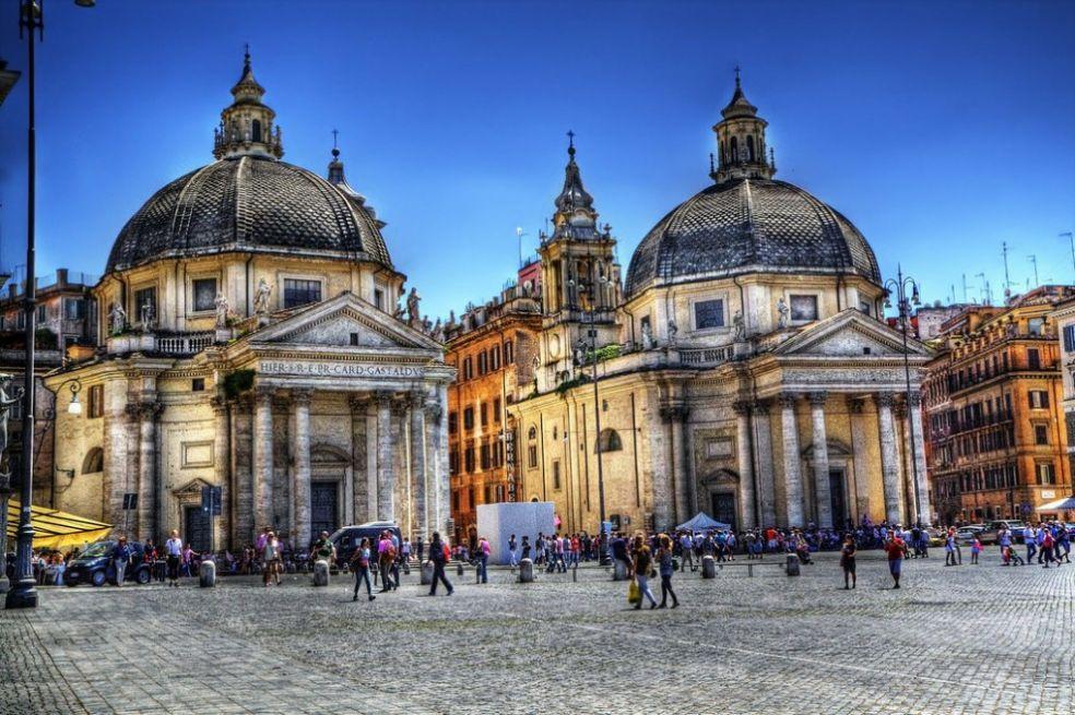 gêmeos igreja a Praça do Povo