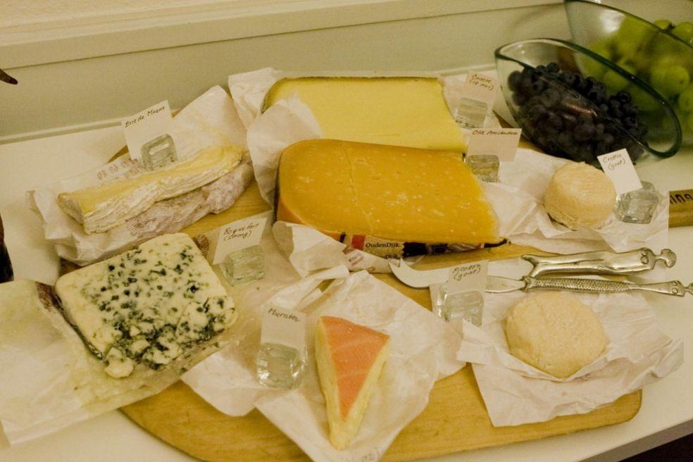 В сырном магазине Мюлуза