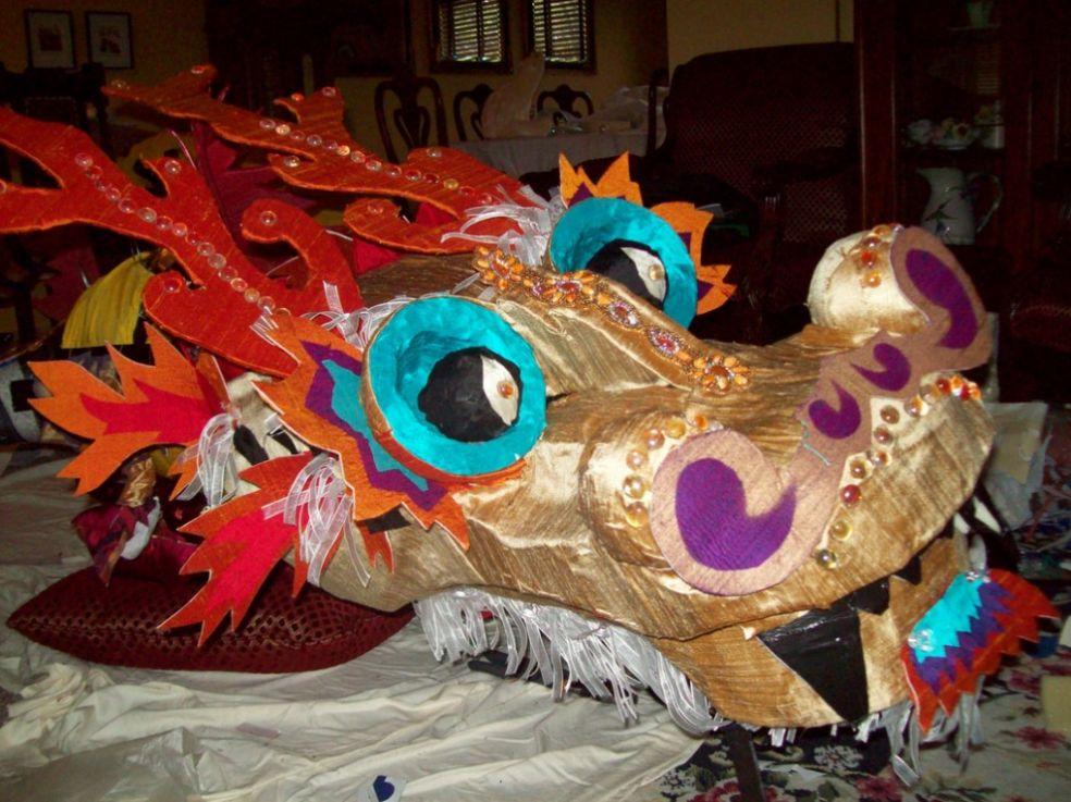 Китайский дракон. Подскажите.: публикации и мастер-классы