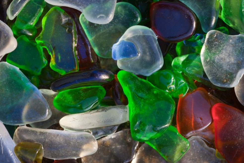 Коллекция стекляшек