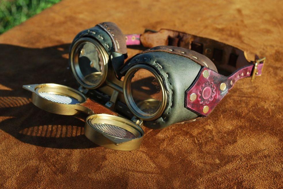 Steampunk очки своими руками 47