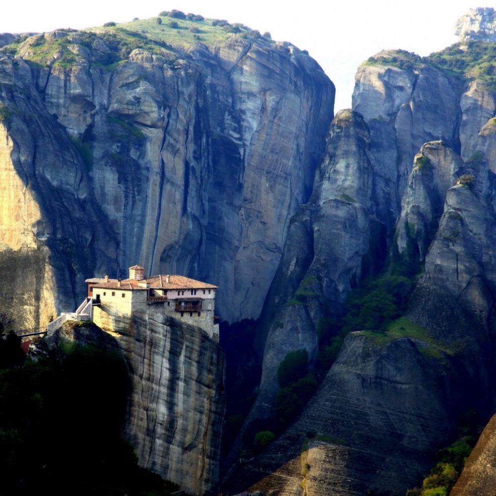 Один из Монастырей Метеоры в Калабаке