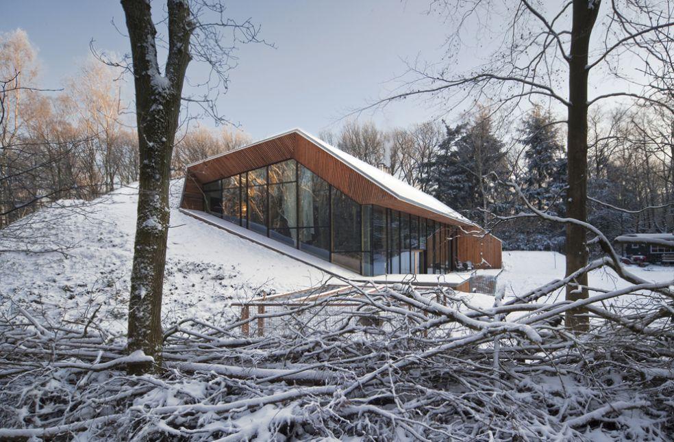 Голландские архитекторы возвели дом