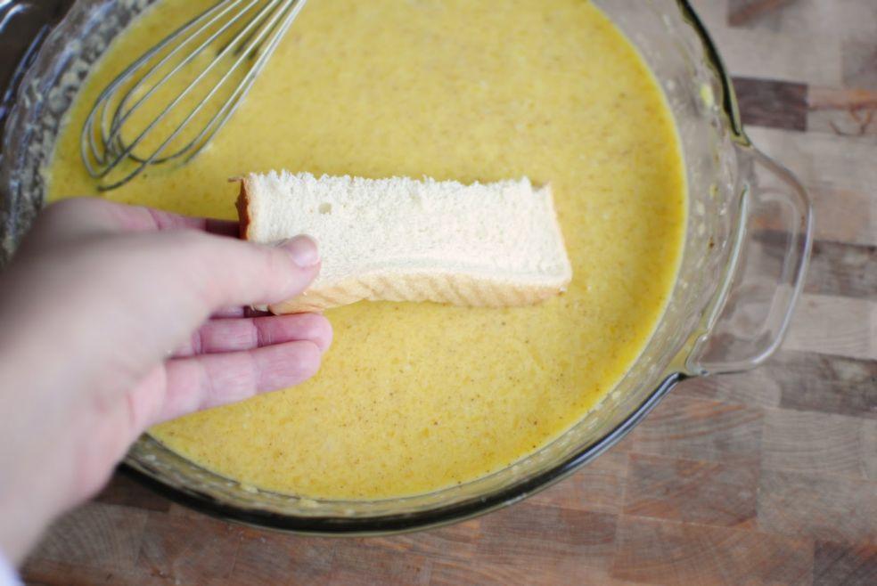 Французские тосты с сиропом фото-рецепт