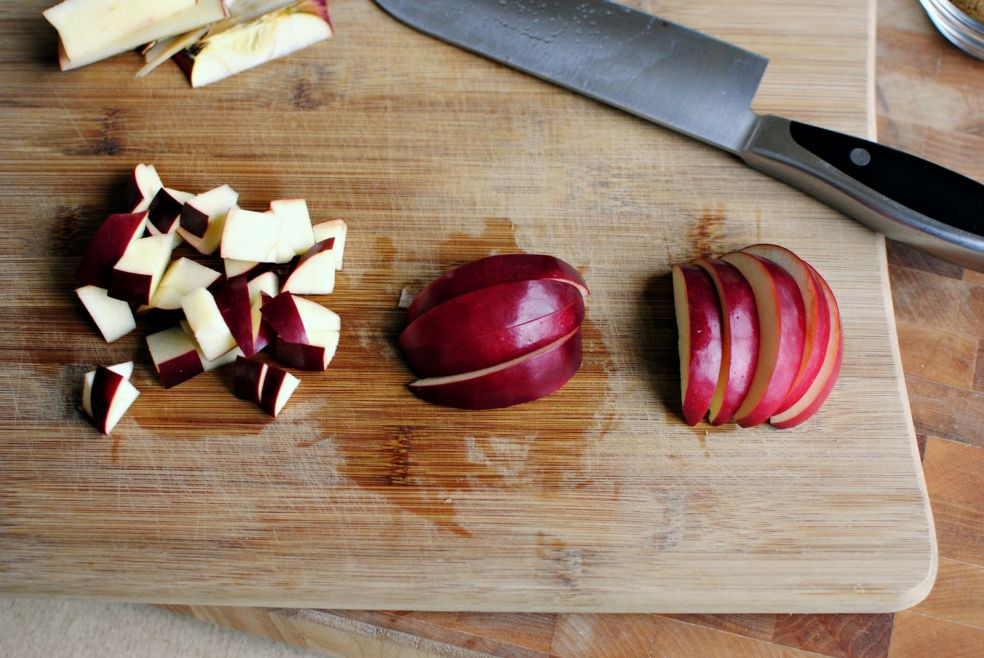 Запеканка из овсянки с яблоком фото-рецепт