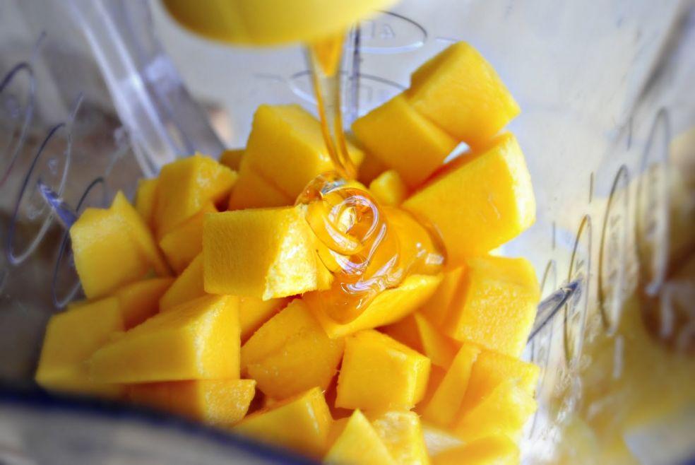 Ананасово-манговый смузи фото-рецепт